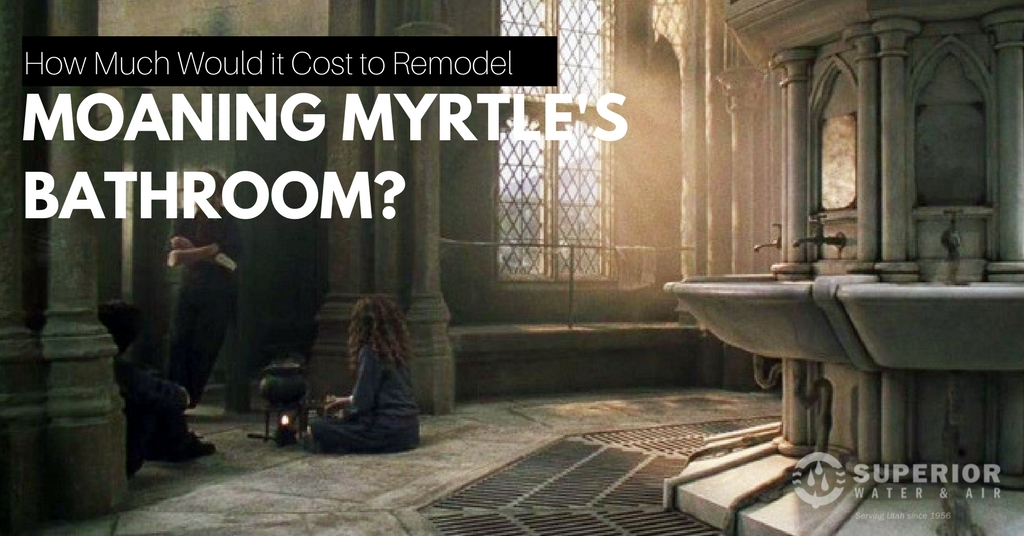 How Much Would it Cost to Fix Moaning Myrtle's Bathroom?