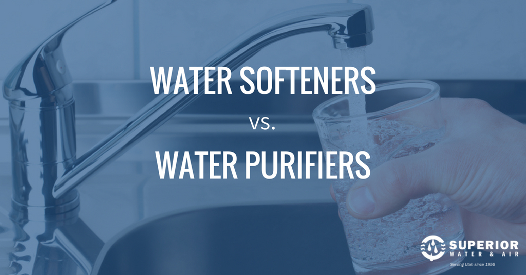 Water Softeners vs Water Purifiers: What You Should Know